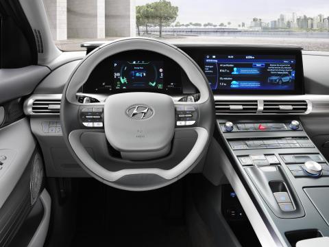 Hyundai Nexo Steering Wheel