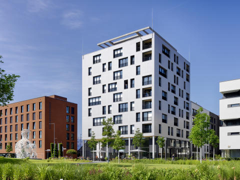 ZÜBLIN Timber, SKAIO Residential Building, Heilbronn