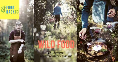Wild Food är årets tema på Food Hackathon i Torsäng, 4-5 november