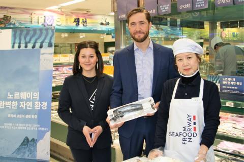 Makrellkampanje under OL i Sør-Korea