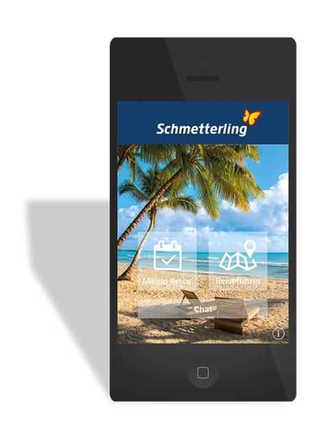 Web-Bild: Das Reisebüro für unterwegs - Die neue Schmetterling Travelbox App setzt neue Maßstäbe für die Kundenkommunikation