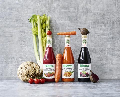 Biotta - Grøntsagsglæde på flaske