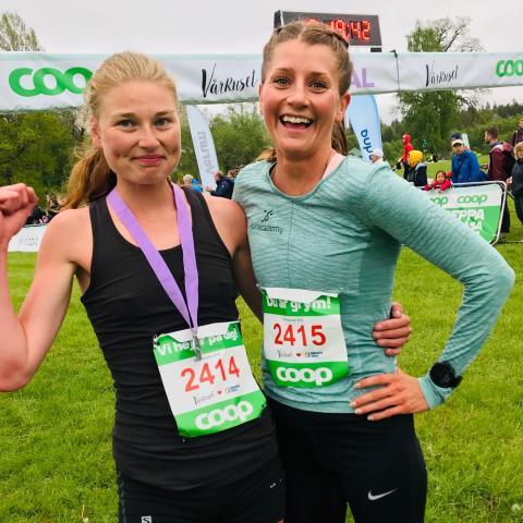 Lisa Ring vann Vårrusets första dag i Stockholm