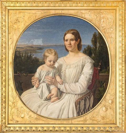 Nivaagaards Malerisamling erhverver historisk guldalderportræt