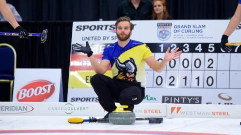 Curling: Dubbelt svenskt i Masters-slutspel