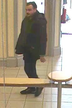 CCTV appeal following theft in Yorkshire bank, Birkenhead