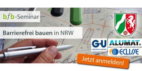 bfb Seminar - Barrierefrei bauen in NRW