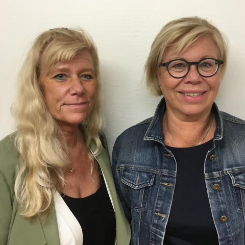 Connie Lethin leg sjuksköterska Agneta Malmgren Fänge arbterapeut