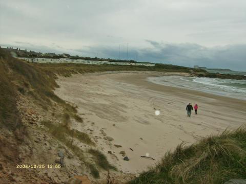 Moray Deserted Beach