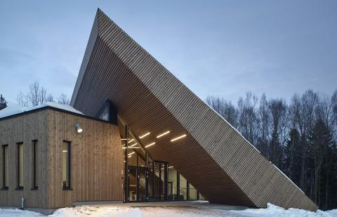 Månedens bygg april 2018: Powerhouse - Drøbak Montessori Ungdomsskole