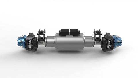 BPW nutzt BMW i Batterietechnologie für elektrischen LKW-Antrieb
