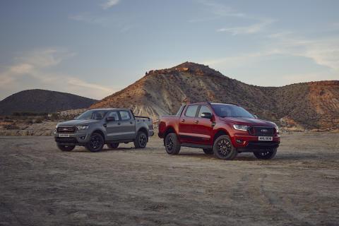 Ford rozšiřuje nabídku nejprodávanějšího pick-upu v Evropě o nové limitované edice Ranger Stormtrak a Wolftrak