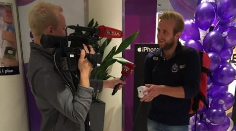 Kristian (22) kjøpte Norges første iPhone 7