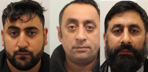 Three men jailed for 28 years in total for modern slavery offences