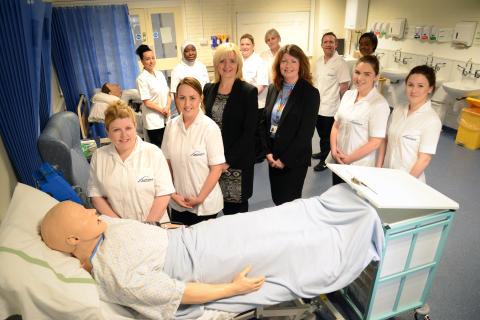 North East continues to pioneer nurse education