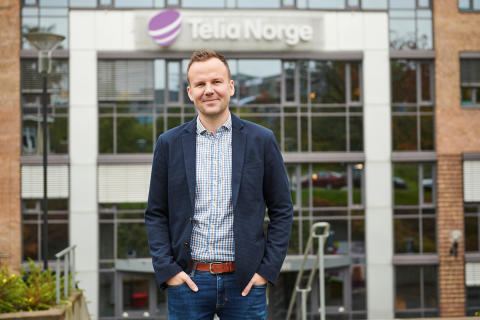 Håkon Lofthus, leder for Telia Privat