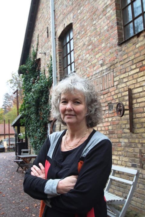 Åsa Orrmell, Wallåkra stenkärlsfabrik, foto Andreas Nilsson Arbetets museum