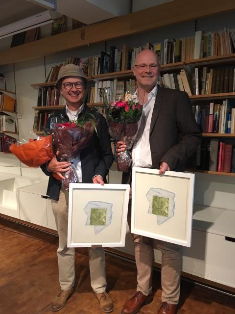 Kritikerprisen for musikk 2017/2018 til Bjørn Rørvik og Gisle Kverndokk