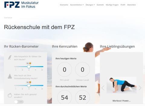 Johannes Heering (fitbase) im FPZ Interview: Onlineportal für einen starken Rücken