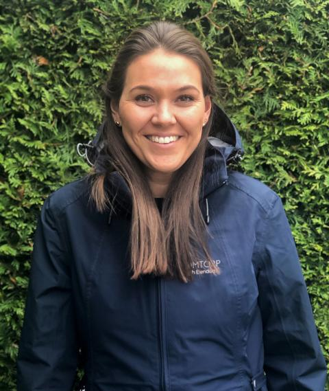 Thea Martine Blyverket blir ny utleiesjef i Höegh Eiendom, med ansvaret for utleie og markedsarbeid på Drømtorp – Höegh Eiendoms eiendom, - og tomteportefølje i Ski.