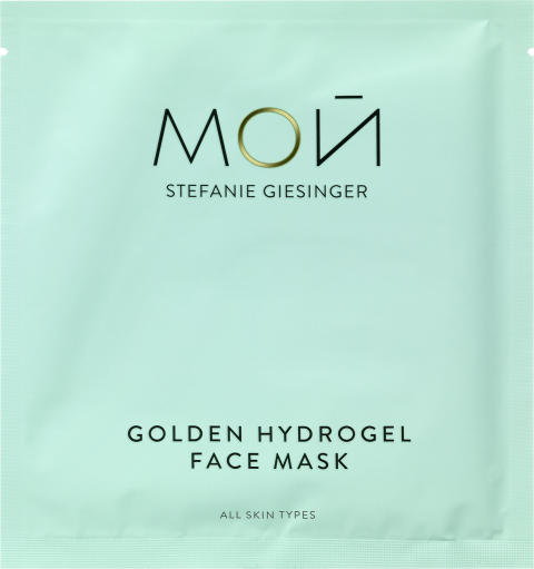 MOЙ Golden Hydrogel Face Mask