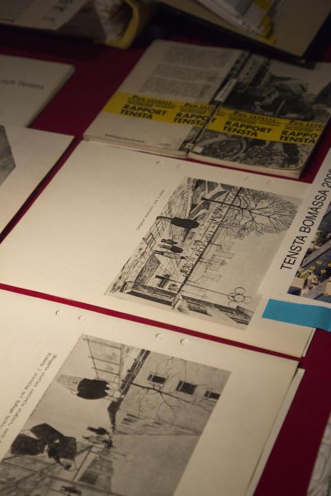 Arkitekt Erik Stenbergs privata arkiv.