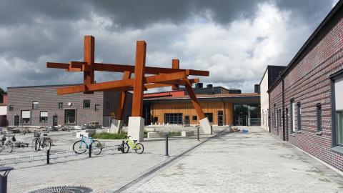 Lingenässkolan första skolbygget på 40 år