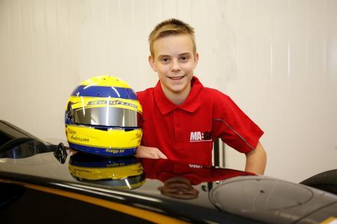Viktor Andersson går i pappas fotspår – klar för Formula STCC Nordic