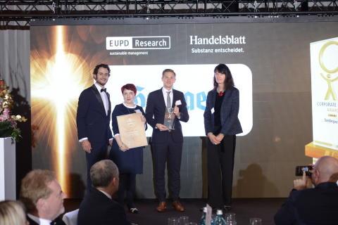 Corporate Health Award 2019: Gothaer gewinnt Sonderpreis Führung