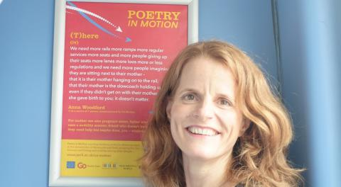 ​Poems launched on one hundred Go North East buses as part of the Great Exhibition of the North