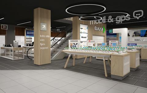 Ny, nordisk trend: Elkjøp åpner butikk midt i Oslo