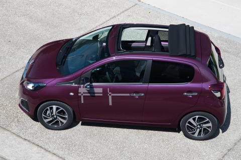 Nya Peugeot 108 TOP!