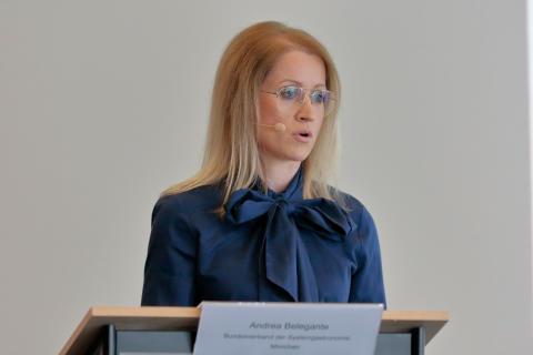 Sozialpartner und Tarifautonomie in der neuen Arbeitswelt - Andrea Belegante beim 15. Tarifforum 2019