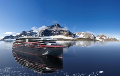 Hurtigruten orders new hybrid powered expedition ship