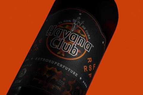 Limited Edition Havana Club 7 Años - von Restrosuperfuture designt