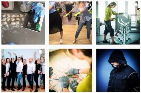 Hur dansar man floss med Worksafe? Vilka handskar passar med livsmedel? Vad behövs vid saneringsarbeten?