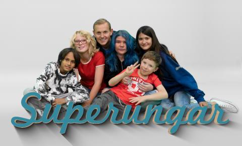 Måns Möller i nya tv-serien Superungar