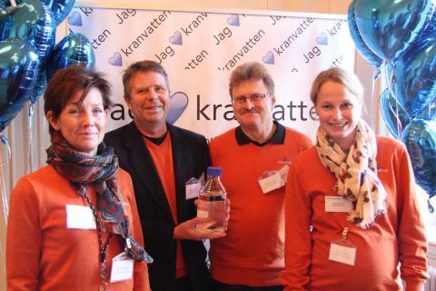 Västerås har Svealands godaste kranvatten