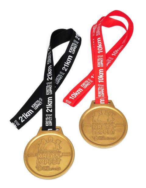 Nedbrytningsbar medalj till Kretsloppet