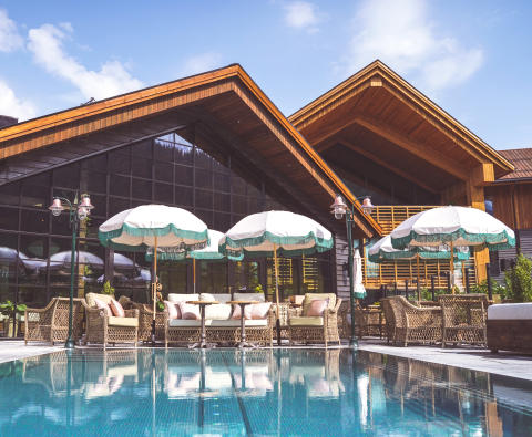 Comeback for Fyri Resort med 1 000 m2 Mountain Pool Club
