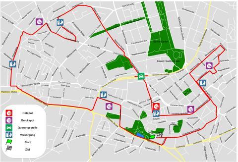 Santander Marathon - Streckenkarte