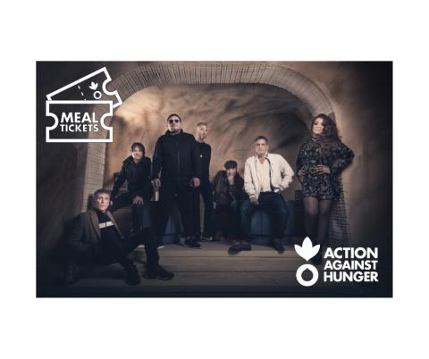 HAPPY MONDAYS SUPPORT GIG FUNDRAISING PARTNERSHIP WITH ACTION AGAINST HUNGER