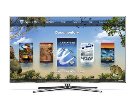 Smart-tv 3d app