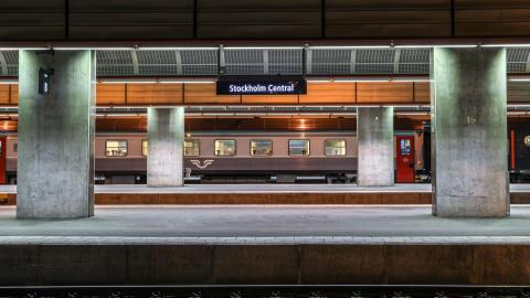Nattåg Stockholm C