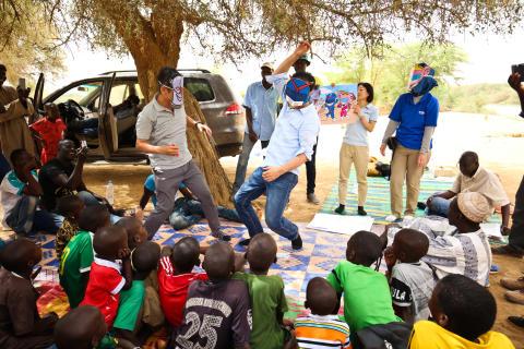 【ニュースレター】アフリカで始動!水の安全を啓発する「紙芝居」
