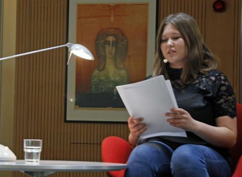 """Siegerin """"Bernadette"""" 2019: Julia Wasmund"""