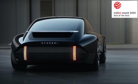 Hyundai tar tre Red Dot-priser for elektriske design - inkludert selskapets første «Best of the Best»