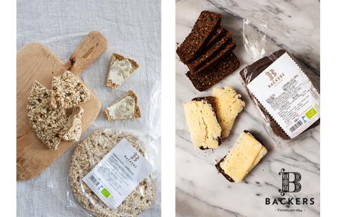 Ekologiskt brödhantverk från Backers bageri tar plats i Sveriges hem med hjälp av Movements expertis