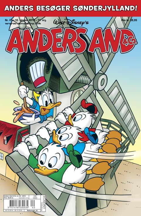 Forside på Anders And & Co. nr. 41