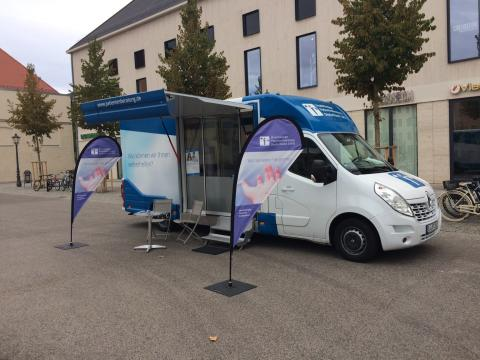 Beratungsmobil der Unabhängigen Patientenberatung kommt am 12. April nach Wittenberg (Lutherstadt).